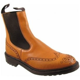Mens Henry Commando Brogue Boots