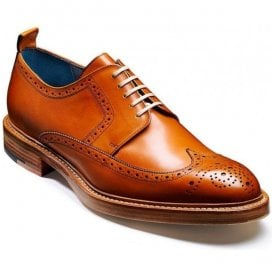 Mens Bailey Cedar Brogue Lace-Up Shoes