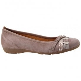 Womens Ashmill Slip On Taupe Shoes 24.165.14