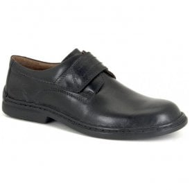 Mens Vigo 09 Black Velcro Shoes 27282 43 600