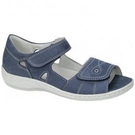 Womens Hilena Denver Jeans Velcro Sandals 582028 191 206