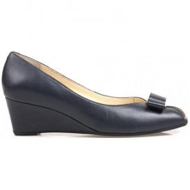 Womens Bay Marine Navy Court Shoes