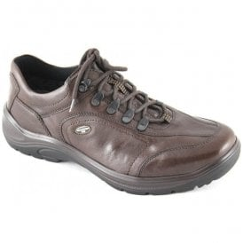 Mens Hayo Tabak Leather Waterproof Walking Shoes 415901 174 026