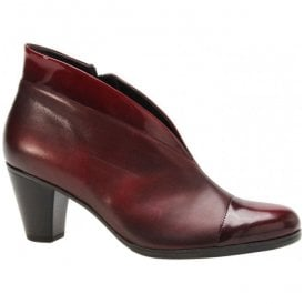 Womens Enfield Two-Tone Burgundy Shoe Boots 75.616.95