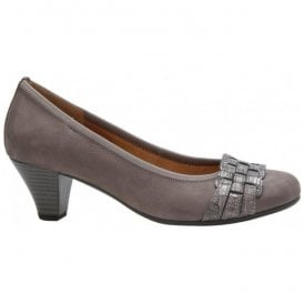 Womens Rhumba Taupe Court Shoes 35.480.33