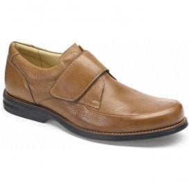 Mens Tapajos Cognac Leather Velcro Casual Shoes