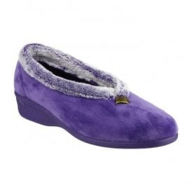 Womens Broadway Lilac Slippers