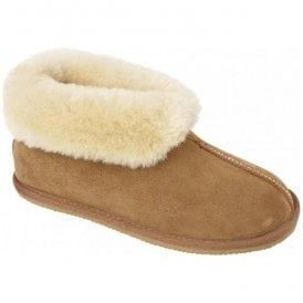 Womens Camilla Spice Warm Lined Bootie Slippers