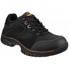 Mens Gunaldo St Black Lace Up Safety Shoes 16247001