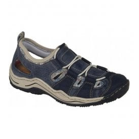 Womens Vendee Ocean Lace Up Trainers L0561-14