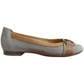 Womens Indiana Taupe/Brown Slip On Shoes 44.113.19