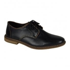 Clarino Black Lace Up Shoes 13422-01