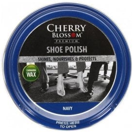 Navy Premium Paste Shoe Polish