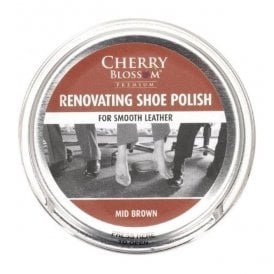 Premium Mid Brown Renovating Shoe Polish