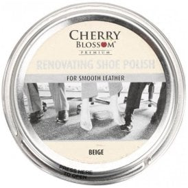 Premium Beige Renovating Shoe Polish