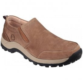 Mens Sheepcombe Tan Slip On Casual Shoes