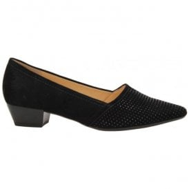Womens Azalea Black Court Shoes 75.134.17