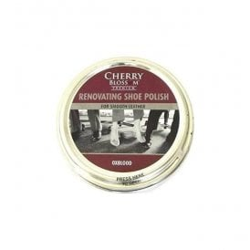 Premium Oxblood Renovating Shoe Polish
