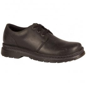 Mens Hazeldon Black Casual Lace Up Shoes 21796001