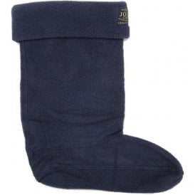 Junior Welton Navy Welly Socks
