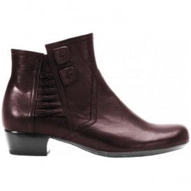 Womens Chaddleworth Dark Merlot Ankle Boots 56.643.24