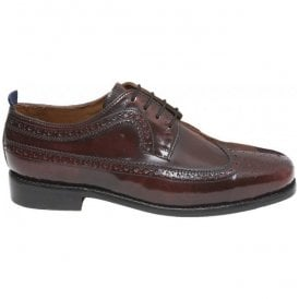 Mens Upsetter Royale Burgundy Brogue