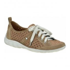 Womens Woodbridge Molasses Lace Up Trainers 24013