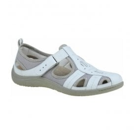 Womens Madison White Casual Shoes 24009