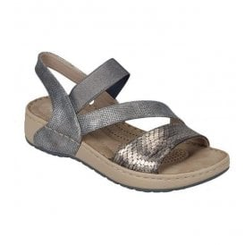 Womens Morelia Metallic Slip On Sandals V5773-90