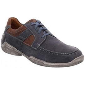 Mens Linus 01 Ocean Leather Lace Up Shoes 24301 950 531
