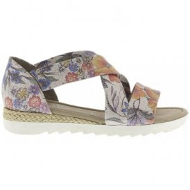 Womens Promise Floral Cross Over Sandals 62.711.28