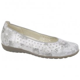Womens Hesima Stone/Floral Pump Shoes 329050 168 070