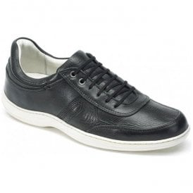 Mens Feliz Chumbo Leather Casual Trainer Shoes