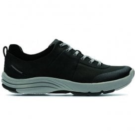 Womens Wave Andes Black Nubuck Trainers