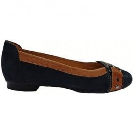 Womens Indiana Night Blue Slip On Shoes 84.113.30