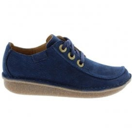 Womens Funny Dream Dark Navy Nubuck Casual Shoes