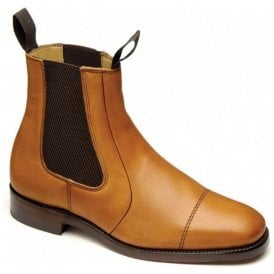 Mens Newbury 2 Tan Leather Dealer Boots