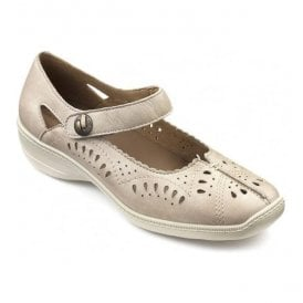 Womens Chile Beige Strap Over Shoes