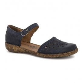 Womens Rosalie 19 Blue Strap Over Shoes 79519 95 500