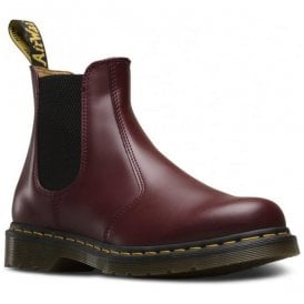 2976 Yellow Stitch Cherry Red Chelsea Boots 22227600