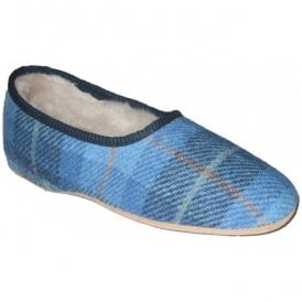 Womens Morag Skye Harris Tweed Slippers