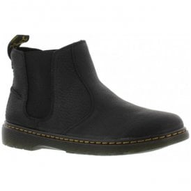 Mens Lyme Black Chelsea Ankle Boots 20868001