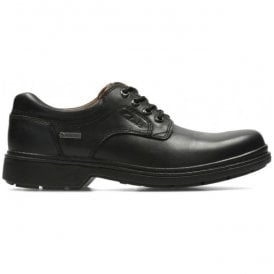 Mens Rockie Lo GTX Black Waterproof Lace Up Shoes