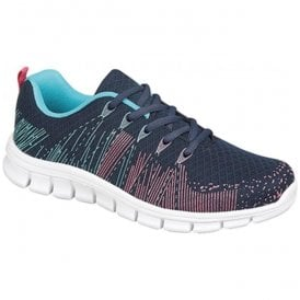 Womens Starlight Superlight Navy/Aqua/Fuchsia Trainers T857C