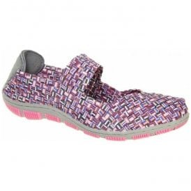 Womens Lottie Grape Crush Mary Jane Shoes A3740