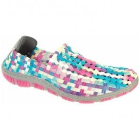 Womens Layla Candy Crush Elasticated Shoes A3732