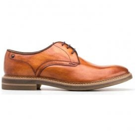 Mens Blake Washed Tan Derby Shoes