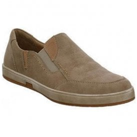 Mens Gatteo 29 Taupe Slip On Trainers 11129 869 251