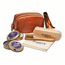 Shoe Care Kit Cedar Leather Case