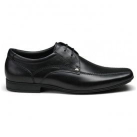 Mens Snowden Black Lace Up Shoes